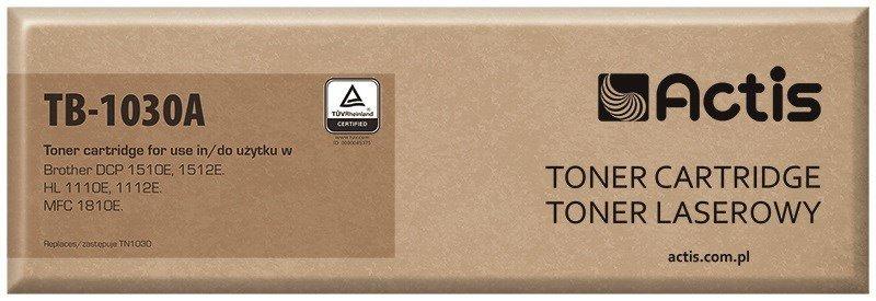 Toner ACTIS TB-1030A (zamiennik Brother TN-1030; Supreme; 1000 stron; czarny)