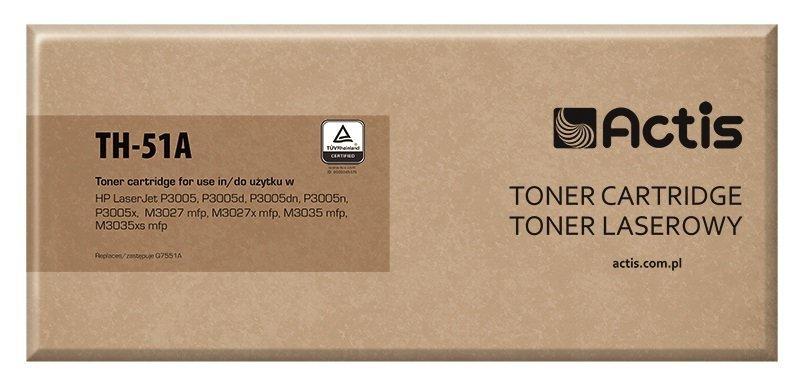 Toner ACTIS TH-51A (zamiennik HP 51A Q7551A; Standard; 6500 stron; czarny)