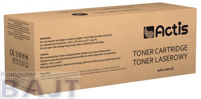 Toner ACTIS TH-402A (zamiennik HP 507A CE402A; Supreme; 6000 stron; żółty)