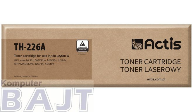 Toner ACTIS TH-226A (zamiennik HP 226A CF226A; Standard; 3100 stron; czarny)