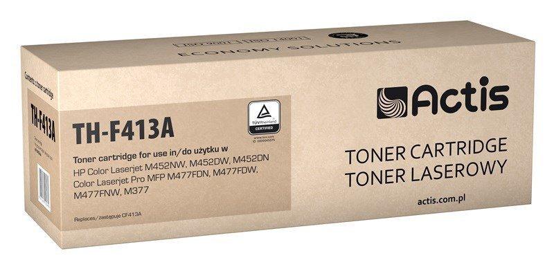 Toner ACTIS TH-F413A (zamiennik HP 410A CF413A; Standard; 2300 stron; czerwony)