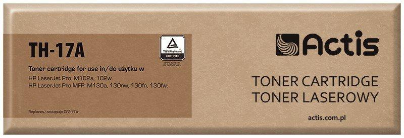 Toner ACTIS TH-17A (zamiennik HP 17A CF217A; Standard; 1600 stron; czarny)
