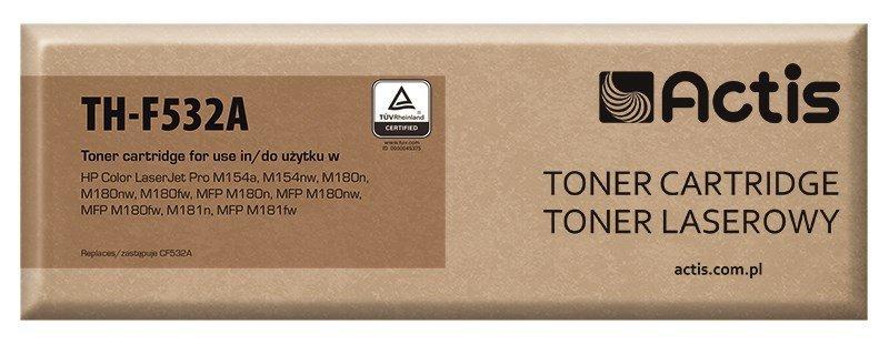 Toner ACTIS TH-F532A (zamiennik HP 205A CF532A; Supreme; 900 stron; żółty)