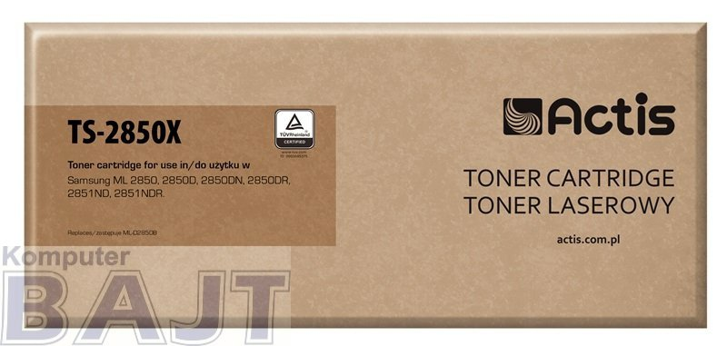 Toner ACTIS TS-2850X (zamiennik Samsung ML-D2850B; Standard; 5000 stron; czarny)