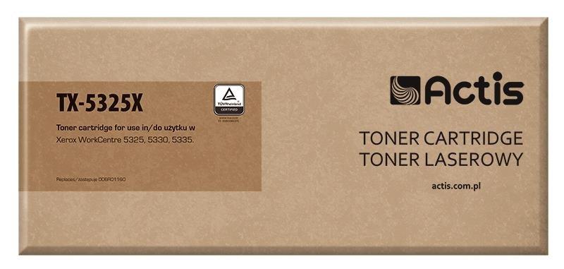 Toner ACTIS TX-5325X (zamiennik Xerox 006R01160; Standard; 30 000 stron; czarny)