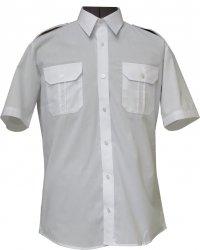 koszula mundurowa krótki rękaw biała