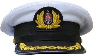 """czapka kapitana """"Wilk Morski"""" nie wyprężona Marynarka Handlowa"""