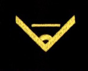 oznaka stopnia do kurtki lub swetra MW chorąży