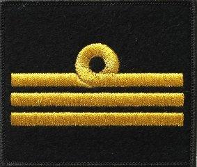 oznaka stopnia do kurtki lub swetra MW porucznik