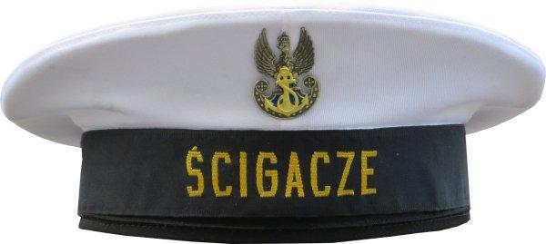 czapka marynarza Ścigacze