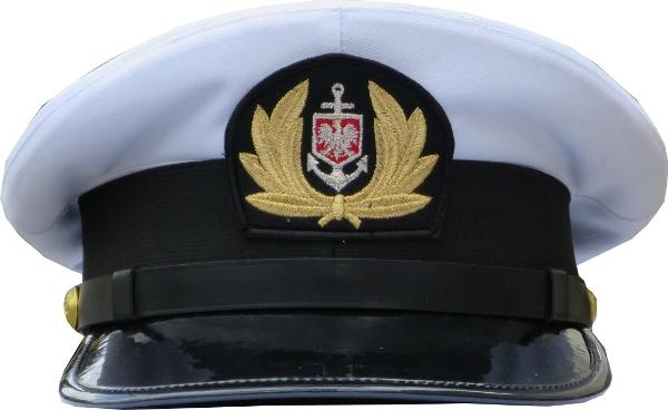 czapka oficera nie wyprężona