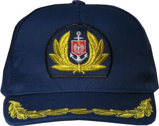 czapka baseball kapitana, cap Merchant Navy master