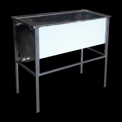 Stół do odsklepiania - 1m (Stal kwasoodporna/0,6mm)