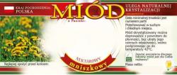 Etykieta samoprzylepna na miód mniszkowy nektarowy – 100 szt.