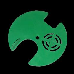 Zamknięcie wylotka okrągłe do ulików weselnych fi 80mm