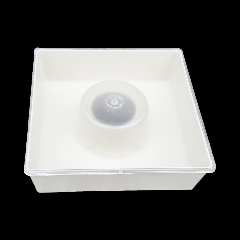 Podkarmiaczka powałkowa z pokrywą kwadratowa 1,8L