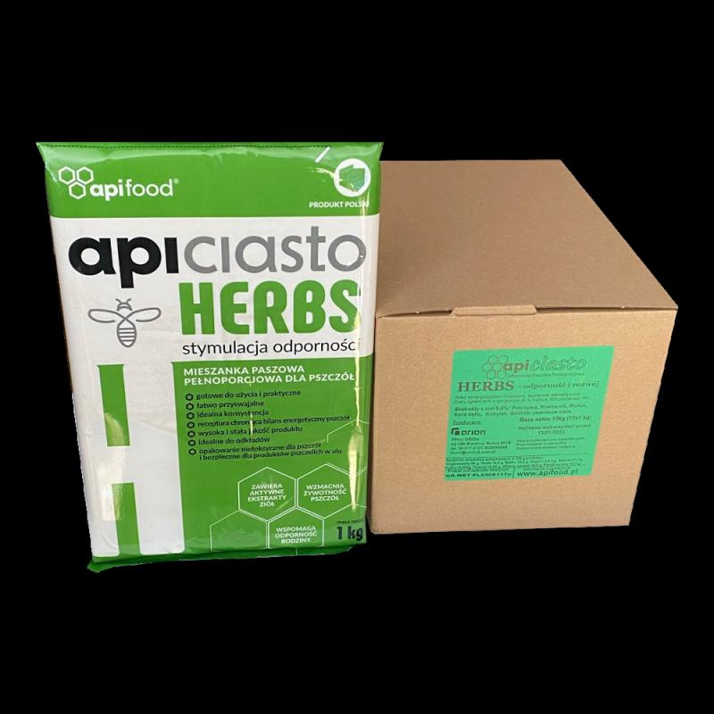 Apiciasto Herbs - 10kg (1kg x 10)