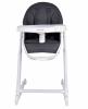 Nowoczesne krzesełko do karmienia INES - szare - przedsprzedaż