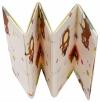 Dwustronna Mata Składana 200 x 180 x 1 cm - Radosne Żyrafy