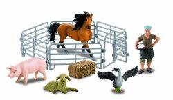 Farmee-zestaw Z06 - Gospodyni ze zwierzętami