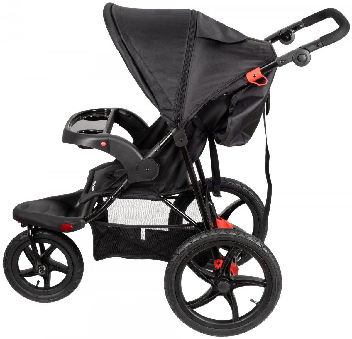 Wózek biegowy+spacerowy dziecięcy 0m+ Moby-System MOUNTAIN