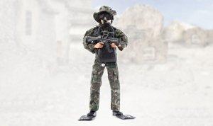 Figurka wojskowa 90200A - skala 1:6