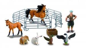 Farmee-zestaw Z08 - Gospodyni ze zwierzętami-duży