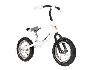 Rowerek biegowy Cody AIR pompowane koła - biały