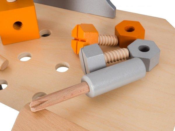 Duży drewniany warsztat - ponad 100 elementów! Ruchoma piła! - przedsprzedaż