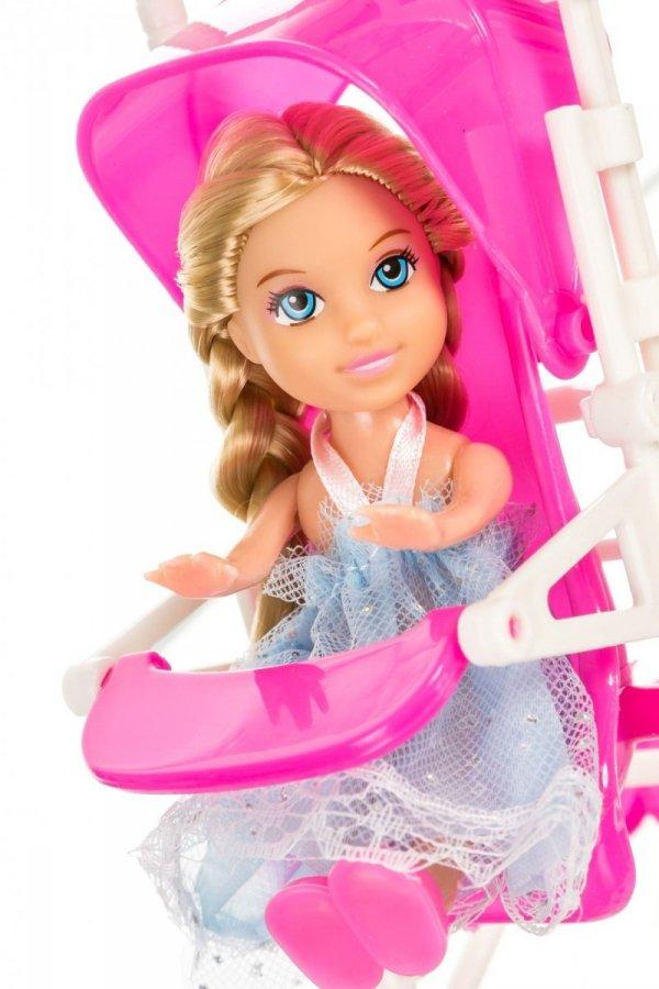 Lalka Anlily - Wózek dziecięcy - blondynka
