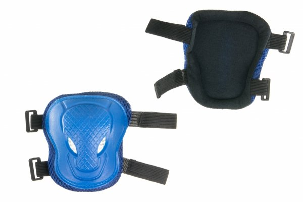Ochraniacze dla dzieci - niebieskie - komplet na kolana łokcie ręce