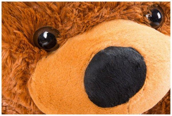 Miś pluszowy GIGANT 100 cm - ciemny brąz