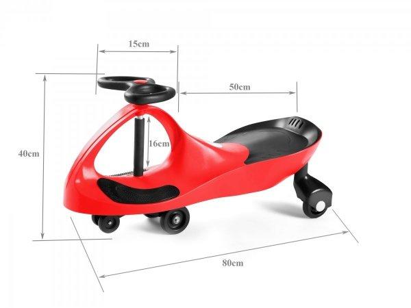 Pojazd dziecięcy TwistCar czerwony