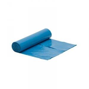 Worek niebieski na śmieci LDPE 120 L/rolka 25 szt