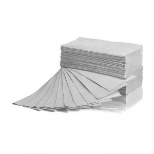 Ręcznik ZZ Makulatura szary 4000