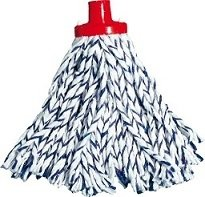 Mop sznurkowy bawełniany zebra 220g