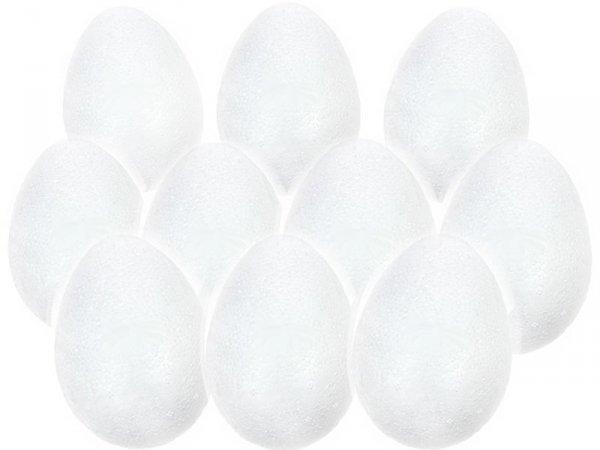 JAJKO STYROPIANOWE 8 cm Jajka Wielkanoc