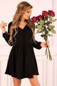 Mayonati Black D37 sukienka