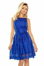 173-1 Ekskluzywna rozkloszowana sukienka - CHABROWA