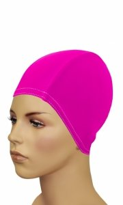 1 Czepek BATHING CAP FOR LONG HAIR orange