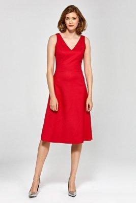Sukienka cs20 - czerwony - CS20