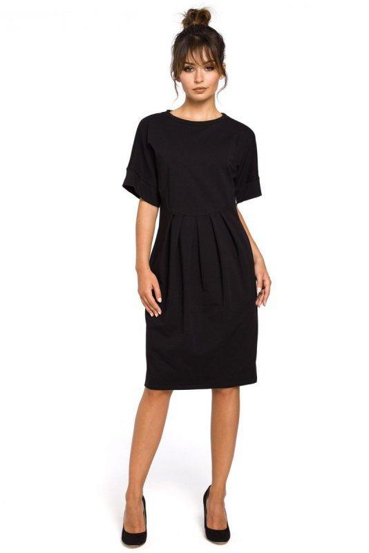 B045 sukienka czarna