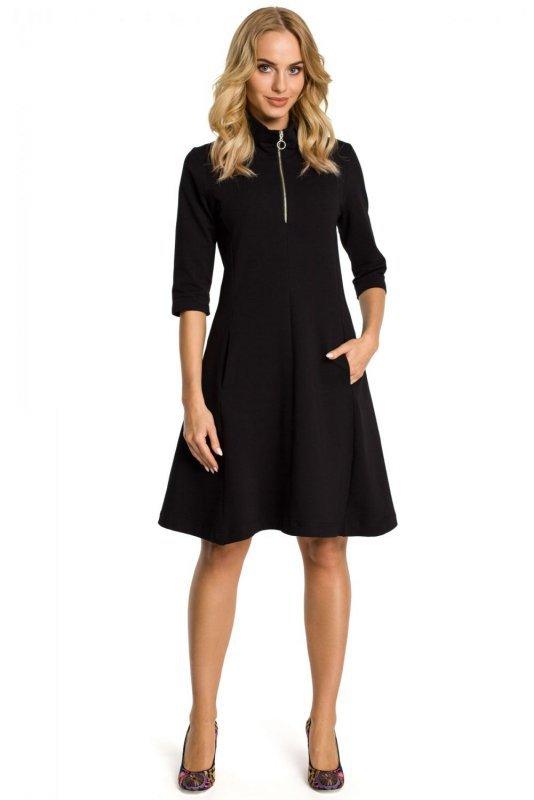 M349 Sukienka czarna
