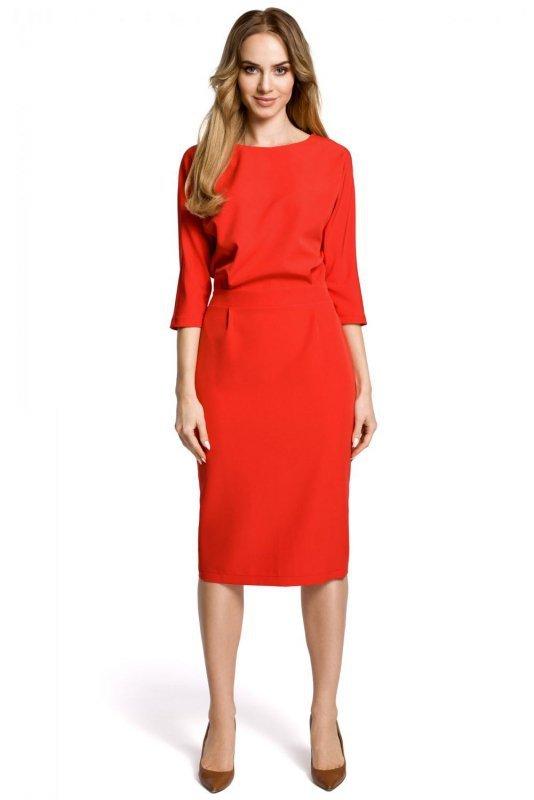 M360 sukienka czerwona
