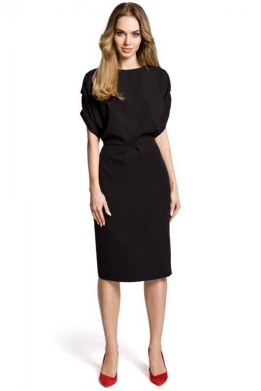 M364 Sukienka czarna