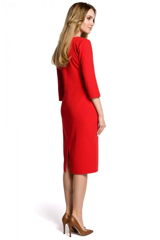 M366 Sukienka czerwona