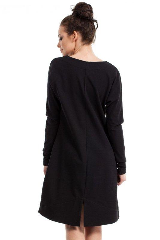 B012 sukienka czarna