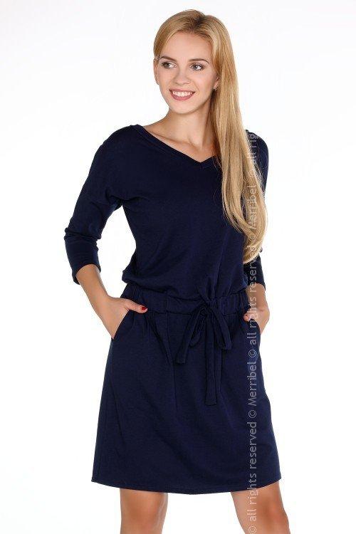 Marlann Navy Blue sukienka
