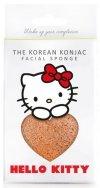 Gąbka Konjac SANRIO Hello Kitty z różową glinką i haczykiem do zawieszenia