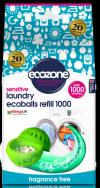 Ecozone Wkład zapasowy do kuli do prania, SENSITIVE, bezzapachowy,